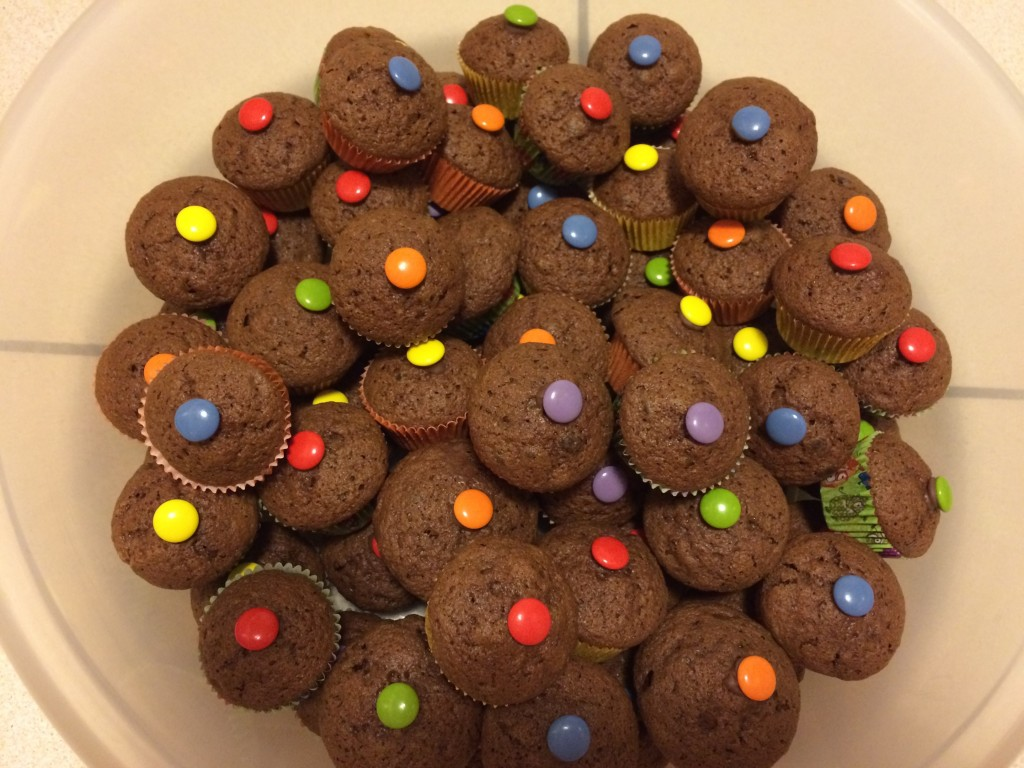 Schoko Muffins Kindergeburtstag