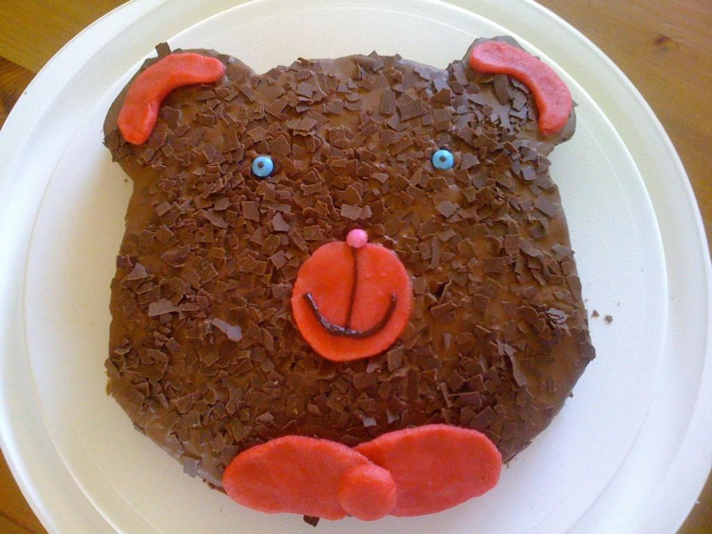 Marmorkuchen für den Kindergeburtstag