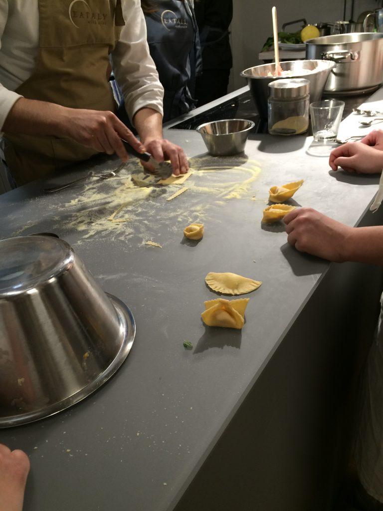 Pasta Kurs im Eataly