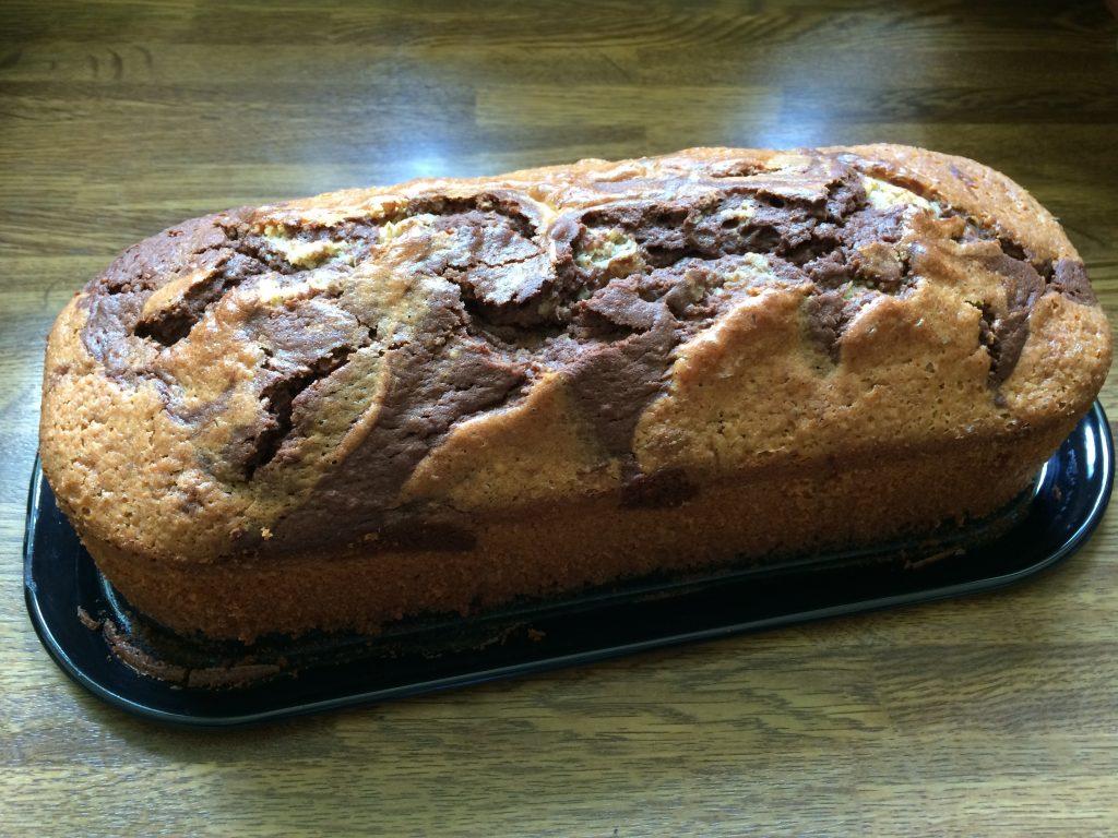 Marmorkuchen mit Kokos-Mandelmilch