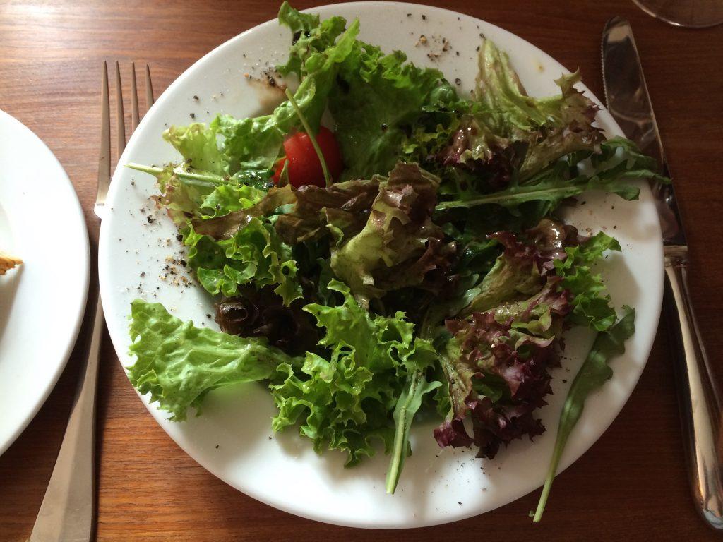 Der kleine Salat vorneweg