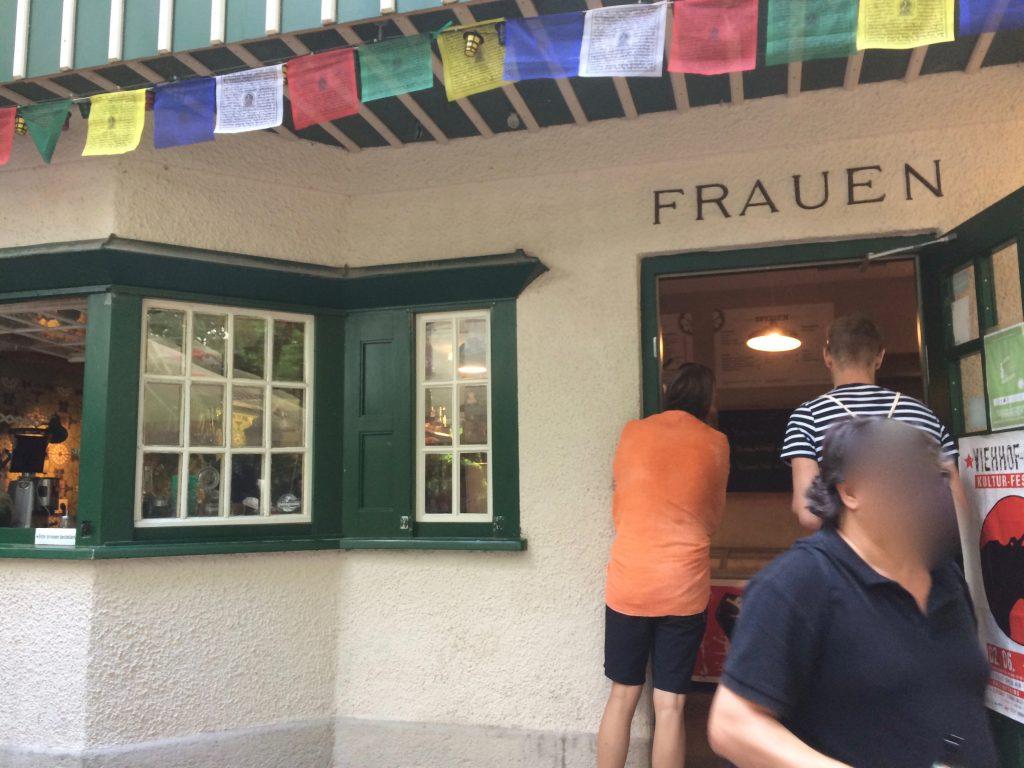 Fräulein Grüneis Eisbach Englischer Garten München