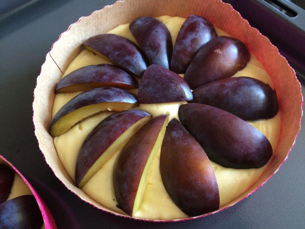 Pflaumenkuchen mit Streuseln