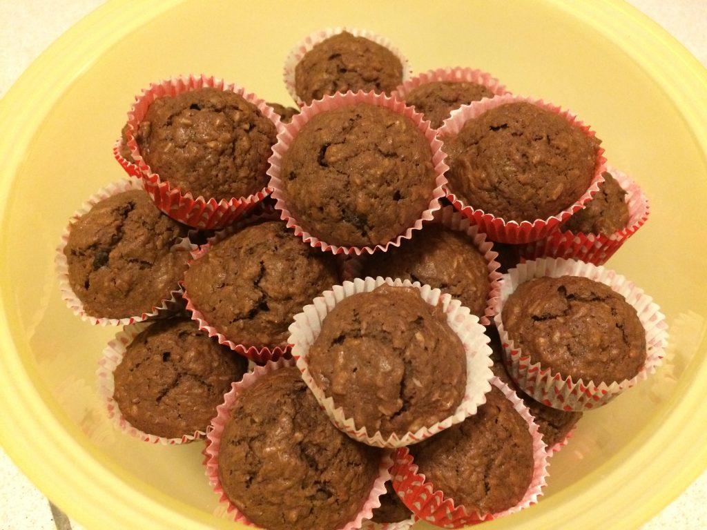 Kokos Schoko Muffins