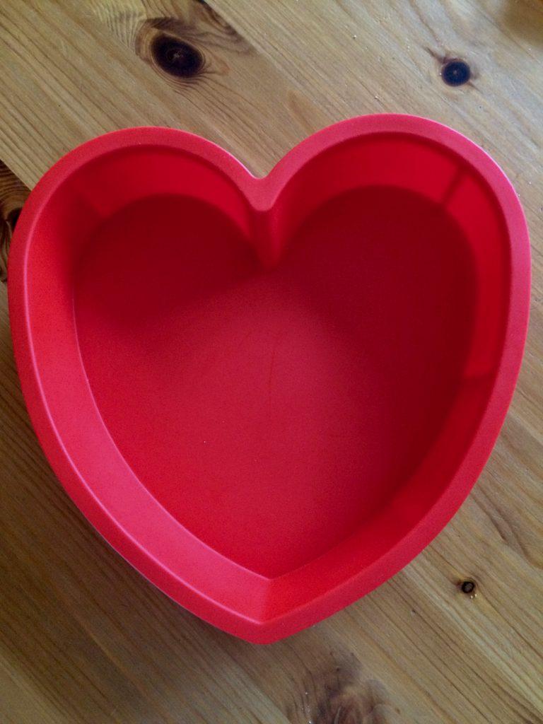 Valentinstag Herzform