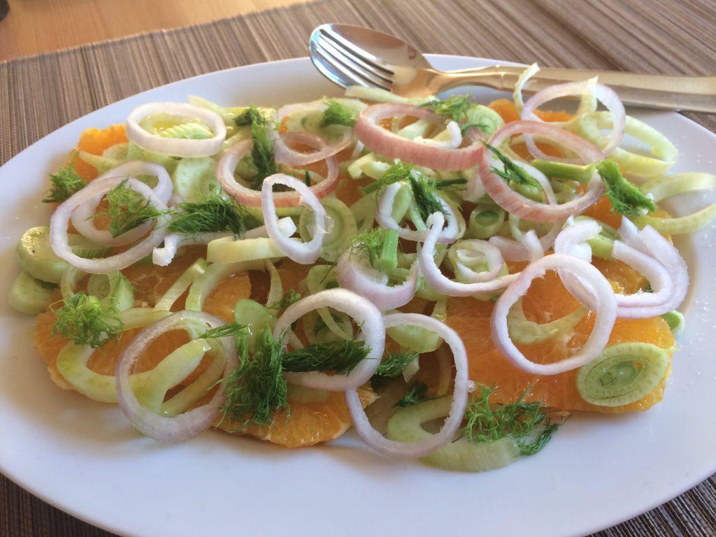 Orangen-Fenchel Salat