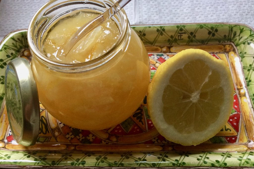 Sizilianische Zitronenmarmelade