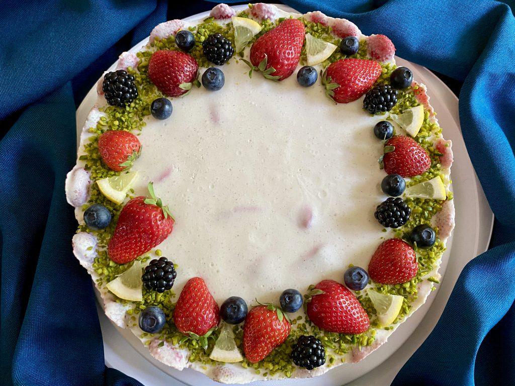 Erdbeer Cheesecake