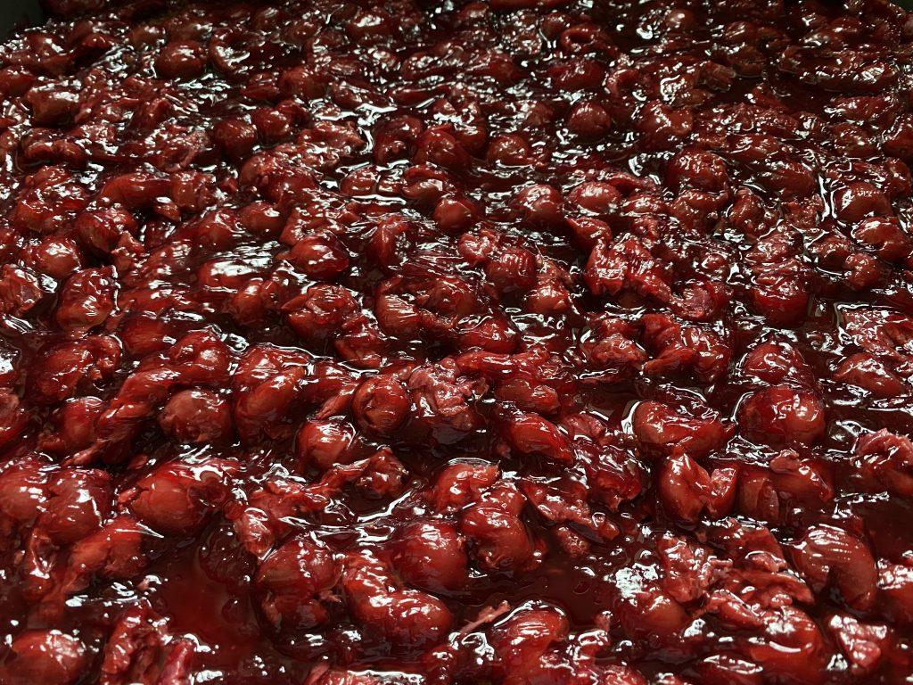 Schwarzwälder Kirsch Torte vom Blech